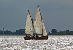 Bremerhaven, Allemagne - 8 septembre 2012 - yacht classique de navigation photographie stock libre de droits