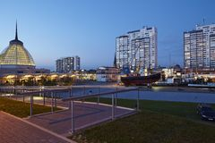 Bremerhaven (Germany) - Residential towers in the evening Royalty Free Stock Photo