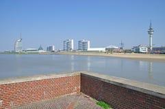 Bremerhaven, Noordzee, Duitsland Stock Fotografie