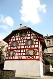 Bremgarten, Switzerland - characteristic timber frame house Stock Images