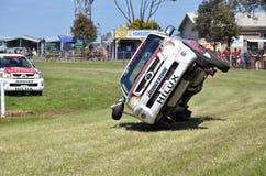 Bremsungs-Antreiben. Stockfoto