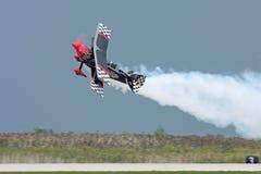 Bremsungs-Flugzeug Stockfotografie