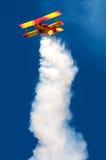 Bremsungs-Flugzeug Lizenzfreie Stockbilder