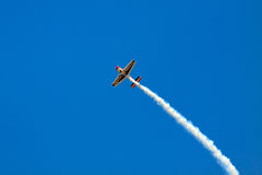 Bremsungs-Flugzeug Stockbilder