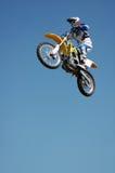 Bremsungs-Radfahrer stockfotografie