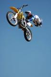 Bremsungs-Radfahrer Lizenzfreie Stockbilder