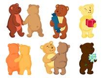 Bären in der Liebe Lizenzfreie Stockfotos