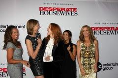 Brenda fuerte, Eva Longoria, Felicity Huffman, Marcia Cross, Vanesa L Williams Fotografía de archivo libre de regalías