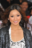 Brenda Song. At the premiere of Michael Jackson's 'This Is It' at the Nokia Theatre, L.A. Live in downtown Los Angeles. October 27, 2009 Los Angeles, CA Picture royalty free stock photography