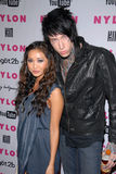 Brenda Song,Trace Cyrus Royalty Free Stock Photo
