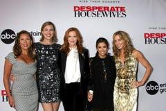 Brenda stark, Eva Longoria, Marcia Cross, Vanessa L Williams, Felicity Huffman lizenzfreie stockfotos