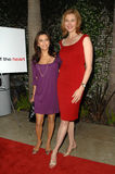 Brenda Strong,Eva Longoria Royalty Free Stock Image