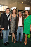 Brenda Strong, Henry Winkler, Lisa Guerrero, William Baldwin, verano Mann Imagenes de archivo
