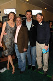 Brenda Strong, Henry Winkler, Ron Howard, William Baldwin, été Mann images stock