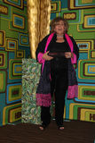 Brenda Vacarro chega no partido 2011 do Golden Globe de HBO Imagens de Stock Royalty Free