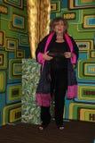 Brenda Vacarro kommt zu der HBO-Golden Globe-Partei 2011 Lizenzfreie Stockbilder