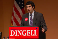Brendan Campbell, Michigan College Democrats Stock Photos