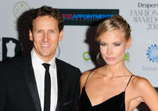 Brendan Cole, Zoe Hobbs Royalty Free Stock Photos