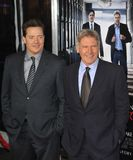 Brendan Fraser,Harrison Ford Stock Image