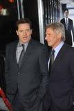 Brendan Fraser,Harrison Ford Royalty Free Stock Image