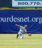 Brendan Norton diving catch Royalty Free Stock Image