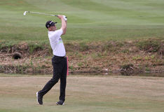Brendan Steele at the golf french open 2015 Royalty Free Stock Photos