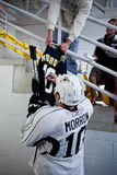 Brenden Morrow of Dallas Stars Signs Autograph Stock Photography