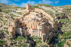 Breng Saba-klooster in de war royalty-vrije stock foto's