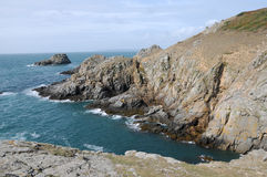 Breniere Bay on Sark Stock Photo