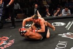 Brennan Bezirk V. Harley Beekman, MMA Stockfotografie
