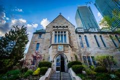 Brennan Hall, at the University of Toronto, in Toronto, Ontario. royalty free stock image