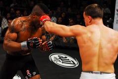 Brennan Ward v. Harley Beekman, MMA Royalty Free Stock Image