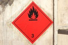 Brennbare Flüssigkeiten Lizenzfreie Stockfotografie