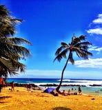 Brennekes de la playa de Poipu Imagen de archivo libre de regalías