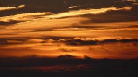 Brennen der Himmel Stockfotos