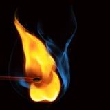 Brennende Abgleichung lizenzfreie stockfotos