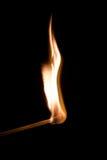 Brennende Abgleichung Lizenzfreies Stockfoto