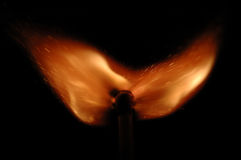 Brennende Basisrecheneinheit Lizenzfreies Stockbild
