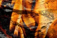 Brennende Basisrecheneinheit Stockbilder
