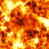 Brennende Explosion Stockfotografie