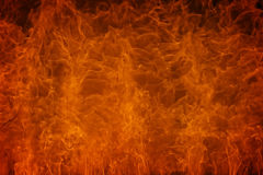 Brennende Feuer-Flamme Lizenzfreie Stockfotografie