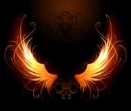 Brennende Flügel Lizenzfreie Stockbilder