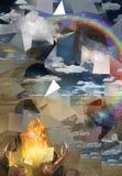 Brennende Gebete vektor abbildung
