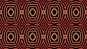 Brennende geometrische Linie Muster auf einem schwarzen Hintergrund lizenzfreie abbildung