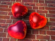 Brennende Herzen Lizenzfreies Stockfoto