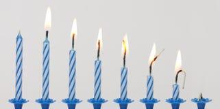 Brennende Kerze Stockbilder