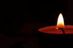Brennende Kerze Stockfotografie