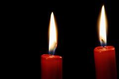 Brennende Kerzen Lizenzfreies Stockbild