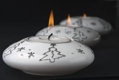 Brennende Kerzen Stockfoto