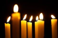 Brennende Kerzen lizenzfreies stockfoto